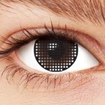 Black Mesh Contact lenses